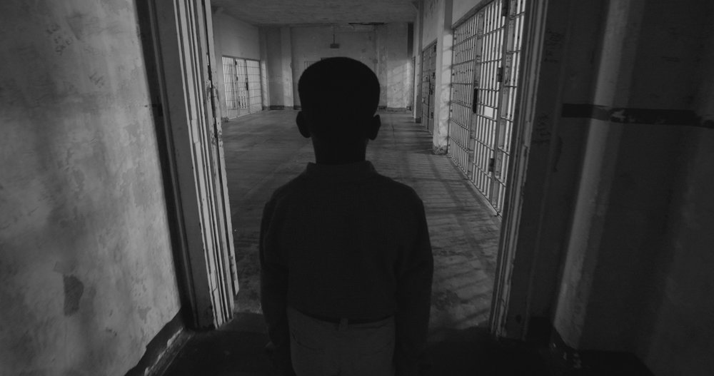 Boy into hospital cells on Alcatraz.jpg