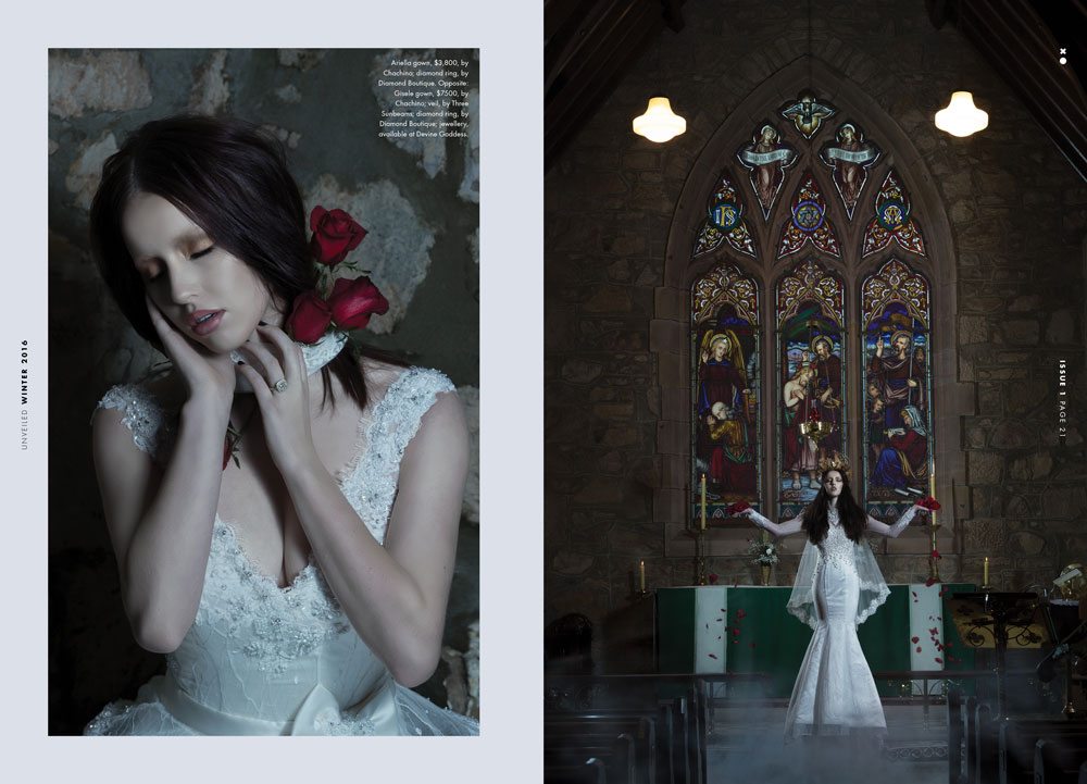Images by  Loriana Cicchini  for Unveiled