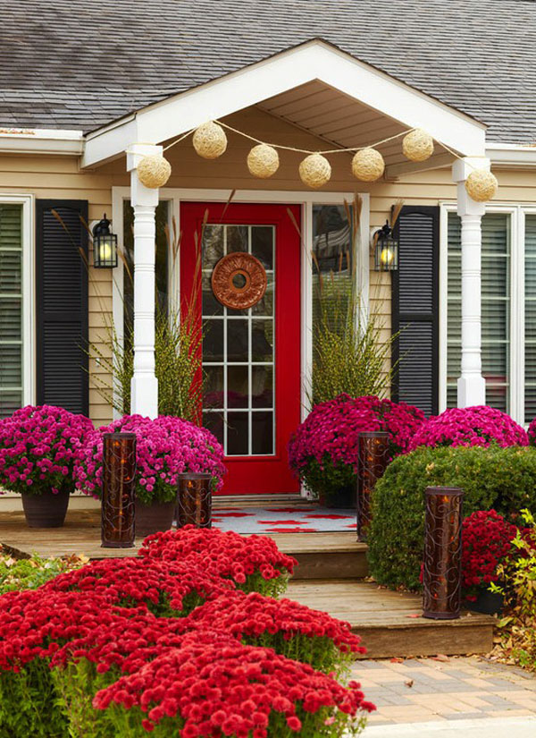 Beautiful Red Front Door
