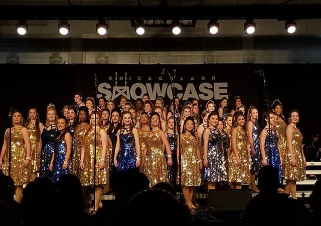 High Heeled Harmony at the John Hersey Chicagoland Showcase.  #showchoir #nnhs #naperville #highheeledharmony #chicagolandshowcase