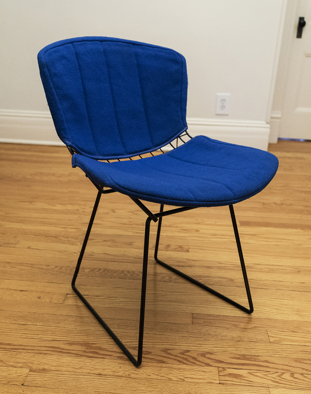 Original Harry Bertoia/Knoll Side Chair, with Full Seat Pad