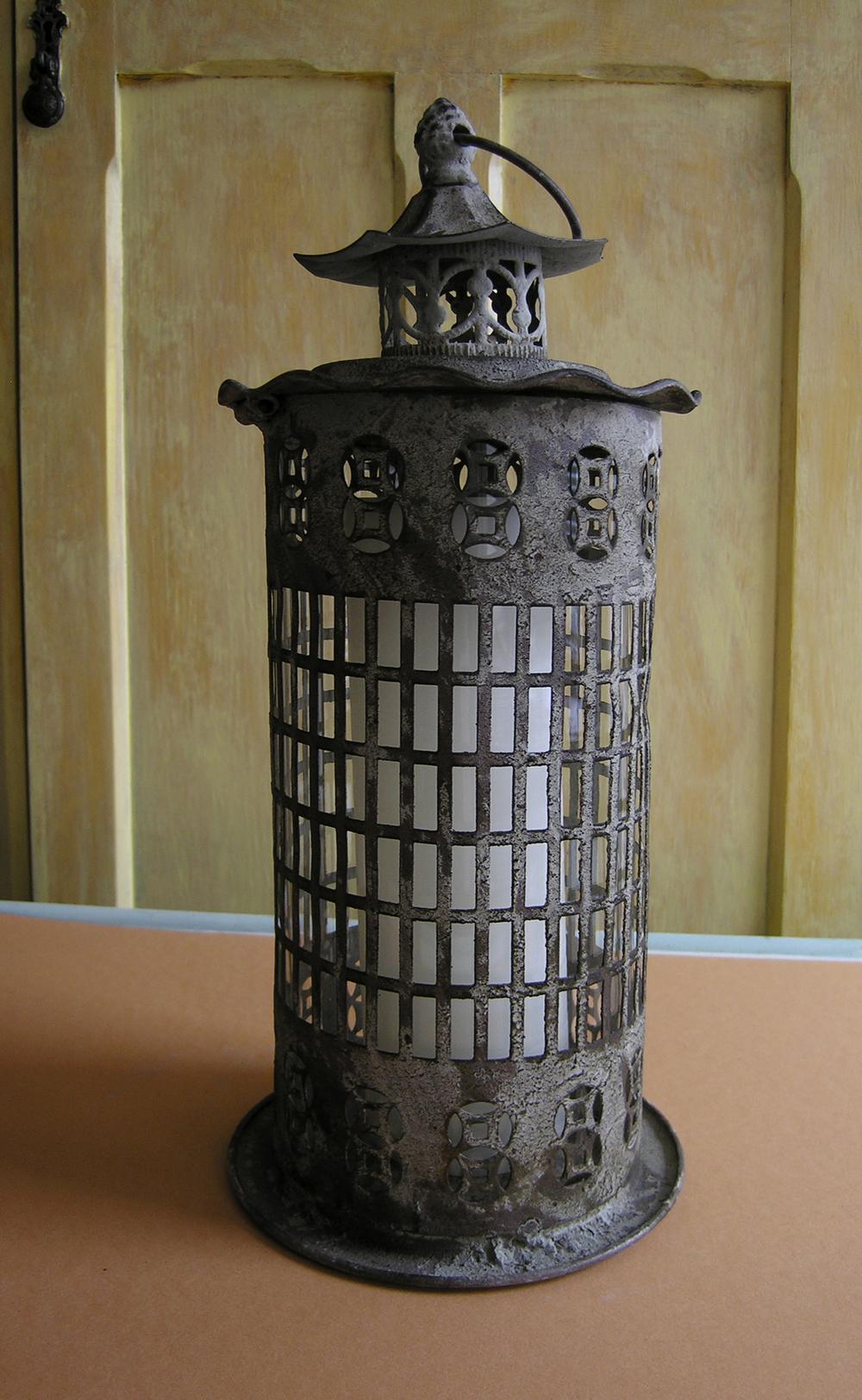 Decorative Metal Candle Lantern