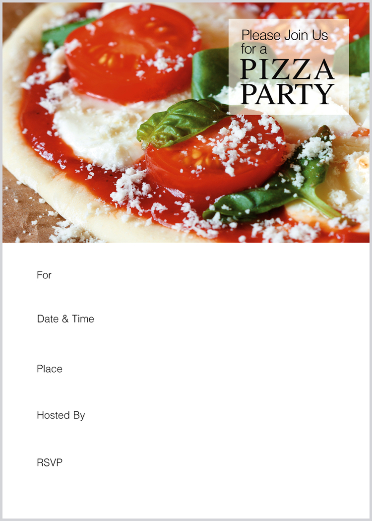 pizza party invitation hudson home and garden