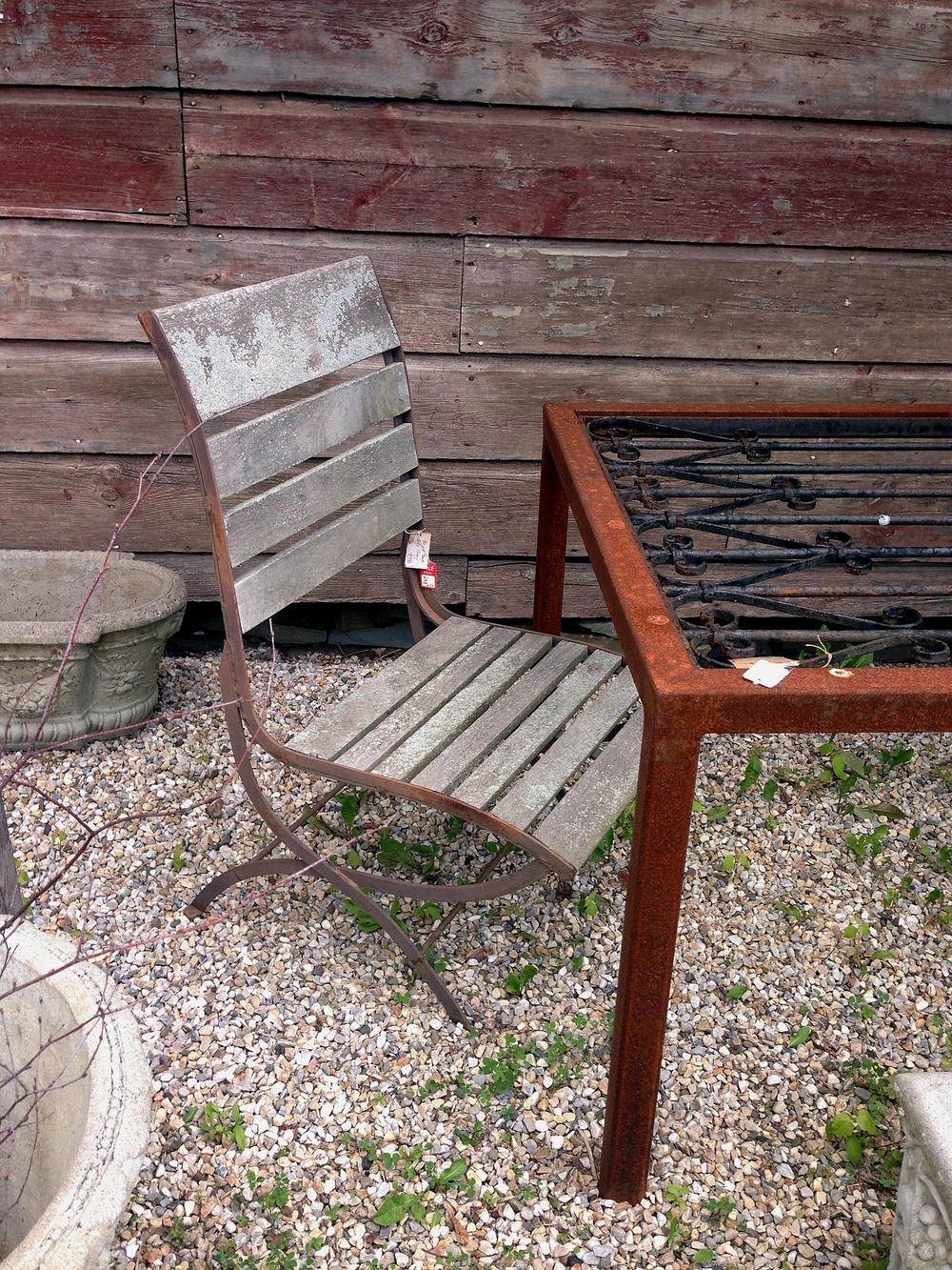 French Teak Side Chairs