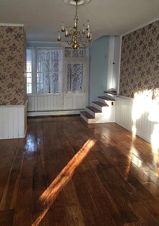 1765 Colonial in Modena, NY, Wide Plank Floors