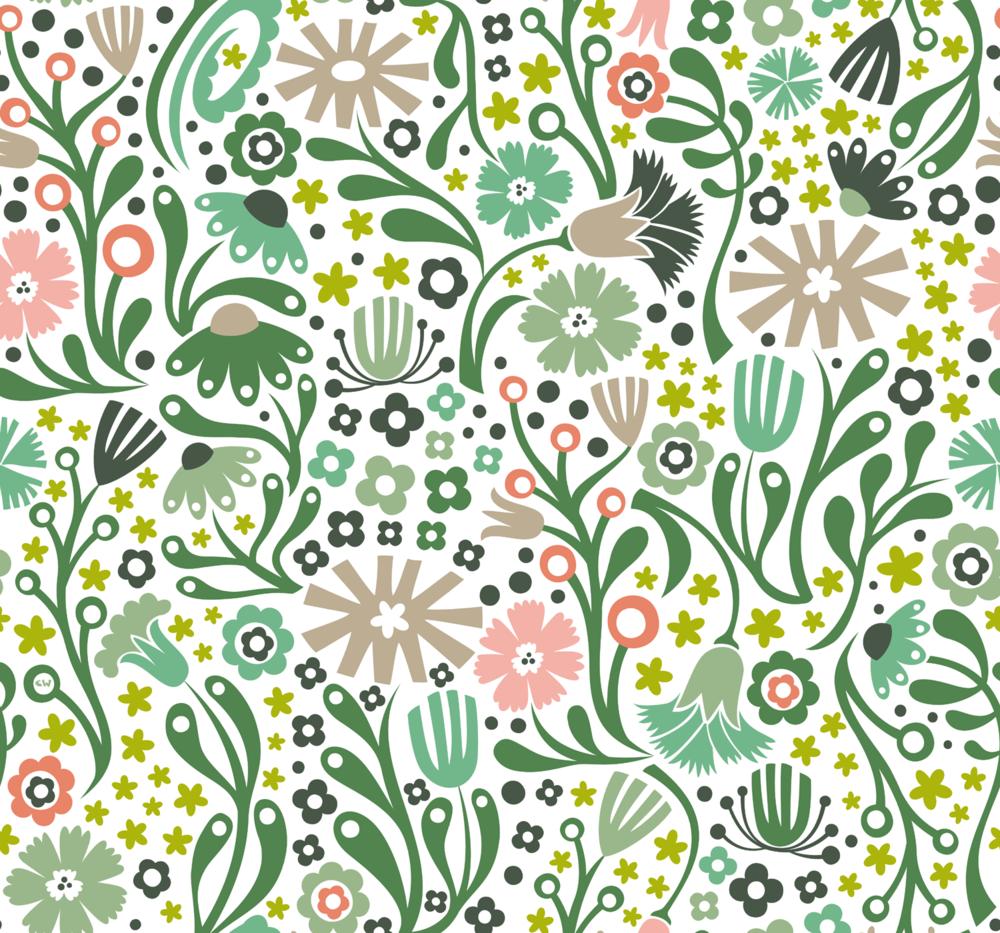 Nordic Suzani Floral