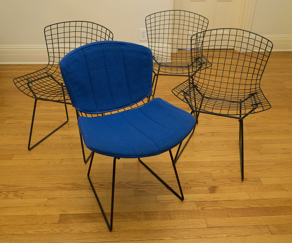 Harry Bertoia Chairs -  SOLD