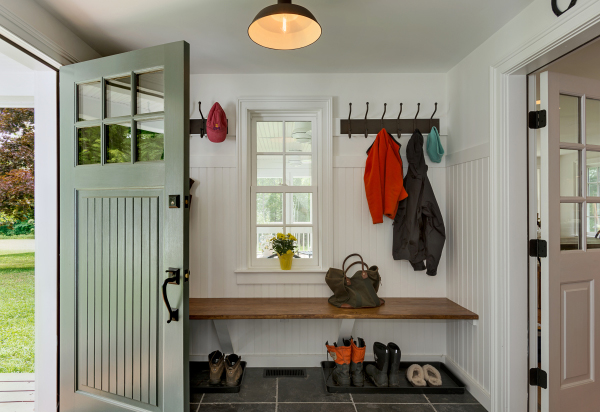 Simple Mud Room