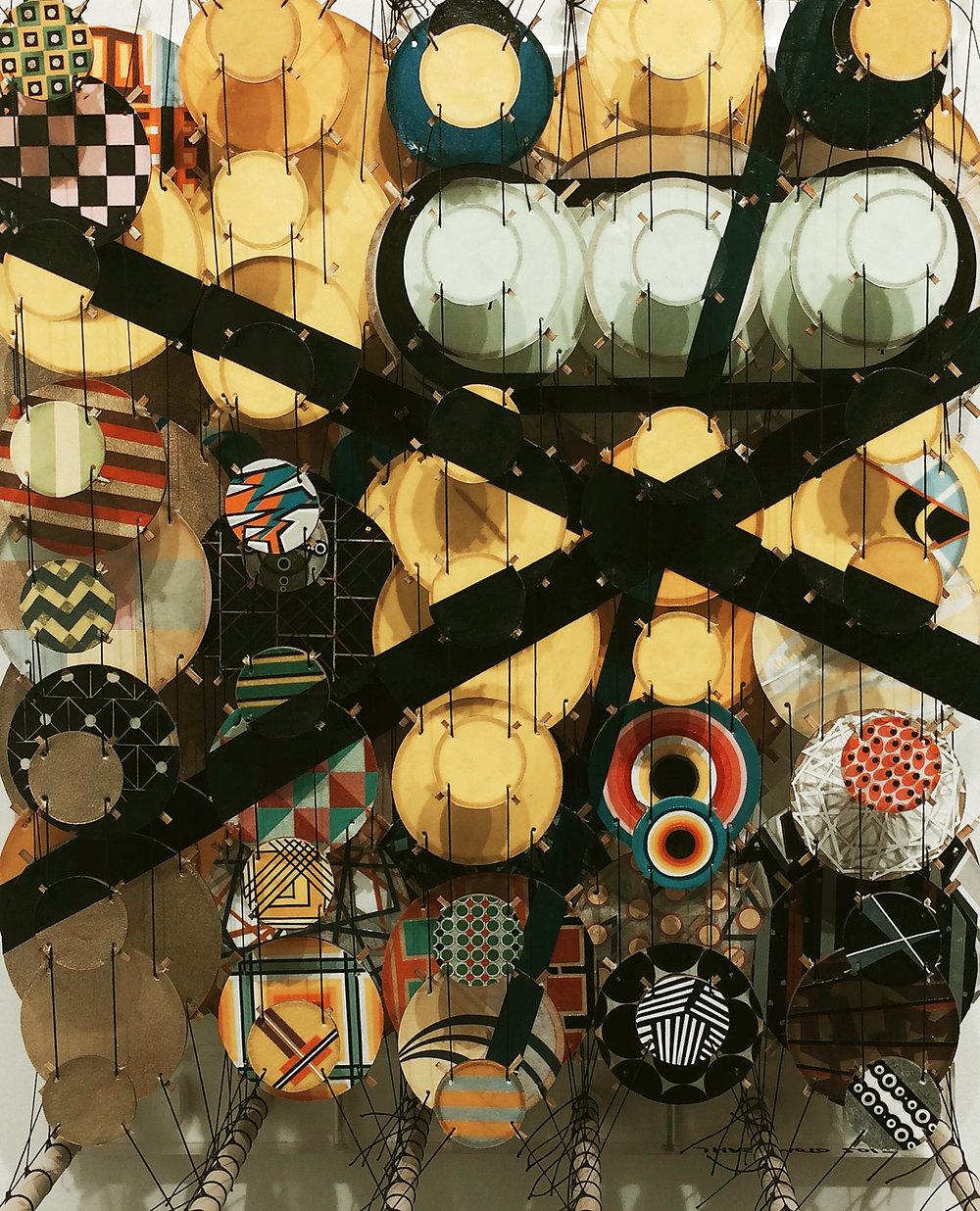 Jacob Hashimoto, Rhona Hoffman Gallery