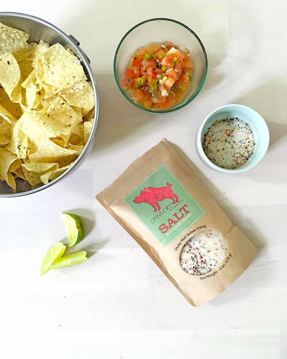 Flavored Organic Salt