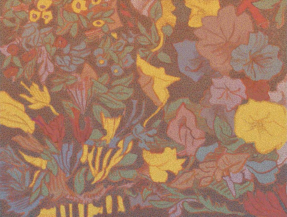 Garden Landscape, Milton Glaser