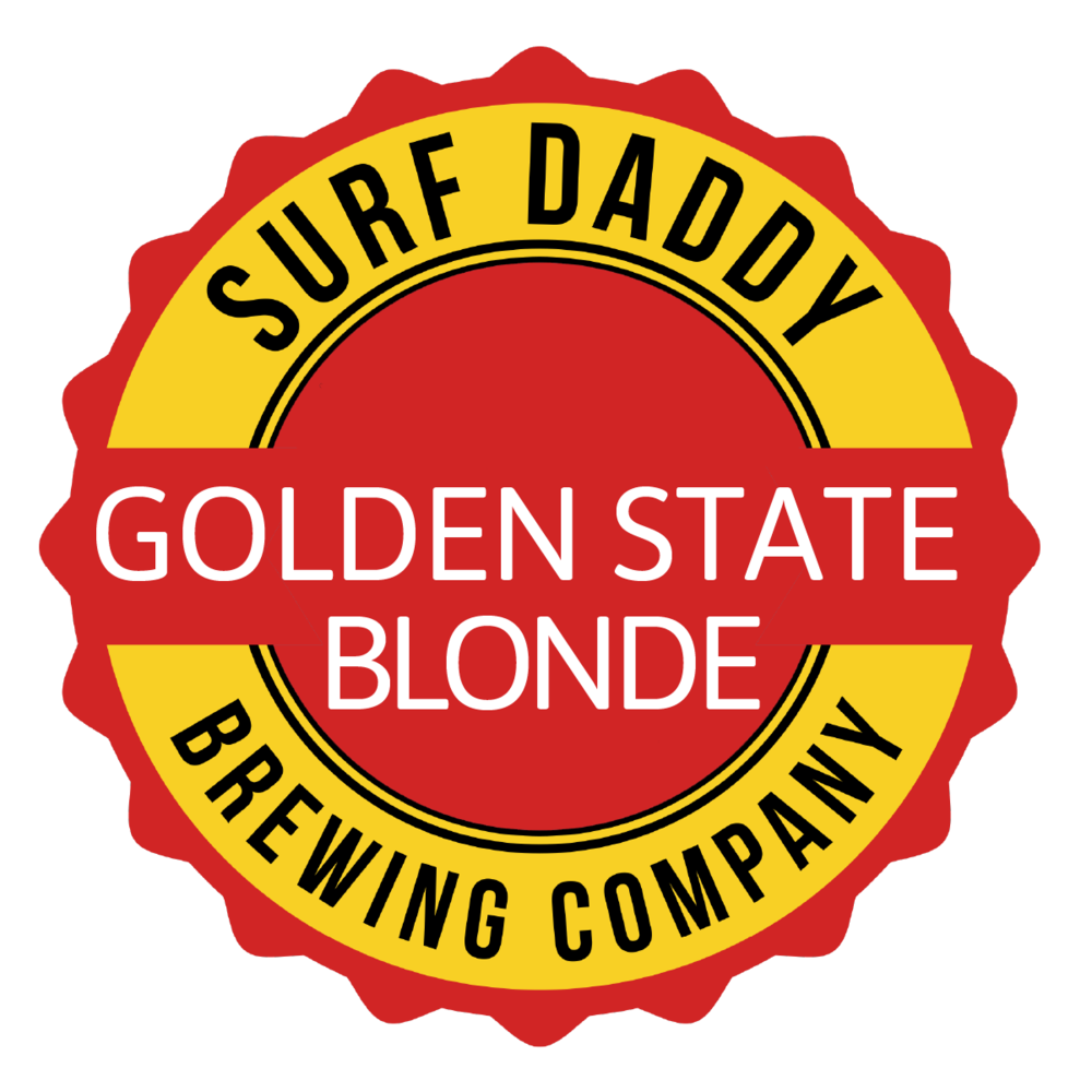 Surf Daddy Brewing Golden State Blonde