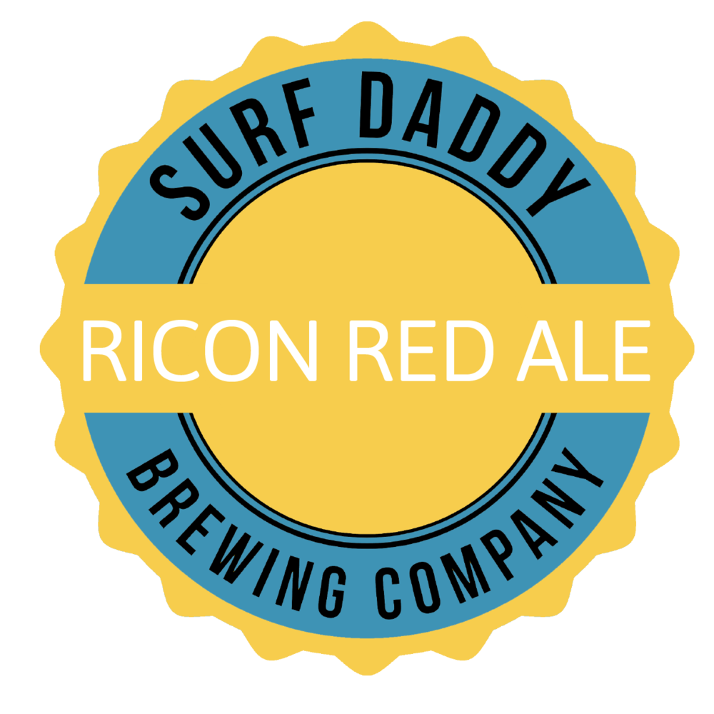 Surf Daddy Brewing Ricon Red Ale