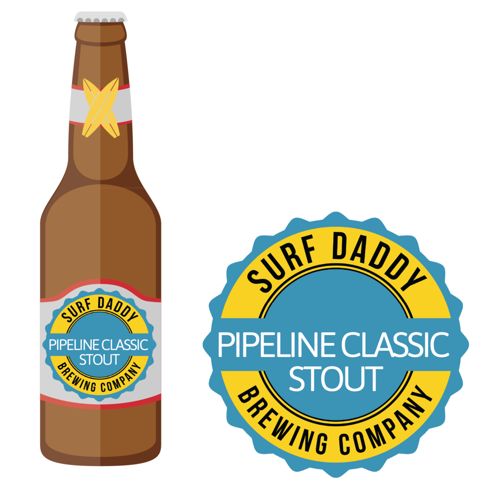Surf Daddy Brewing Pipeline Classic Stout