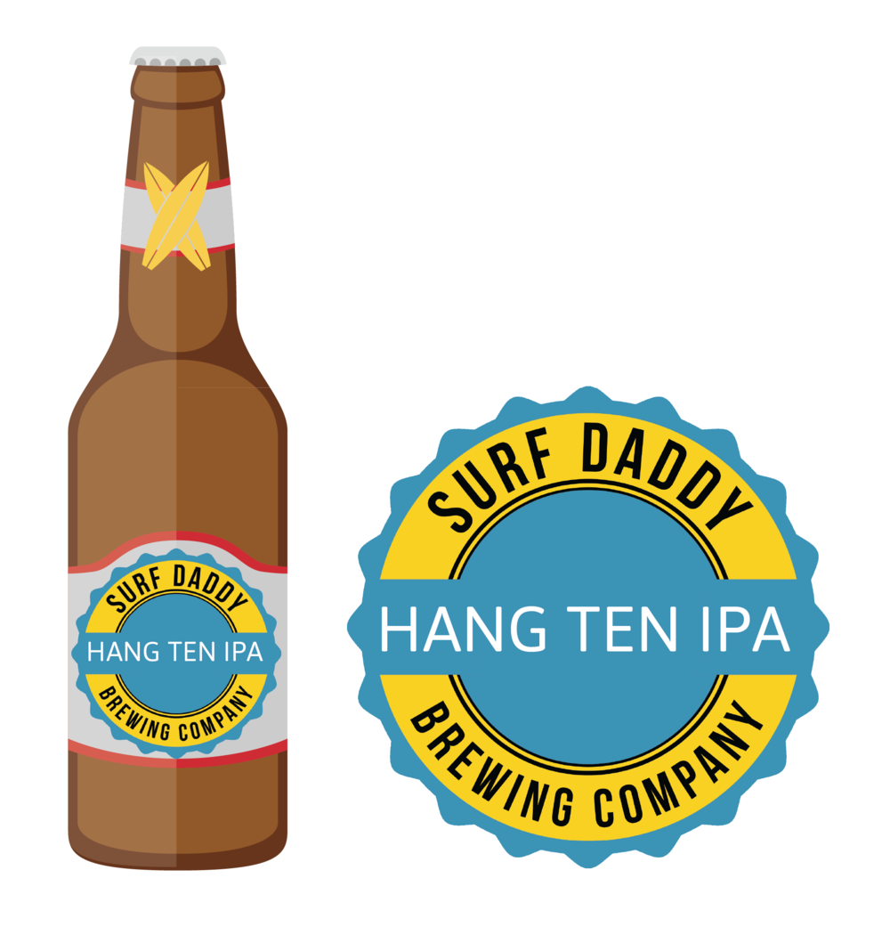 Surf Daddy Brewing Hang Ten IPA