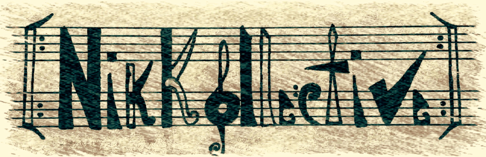 The first original hand-made NikKollective LOGO