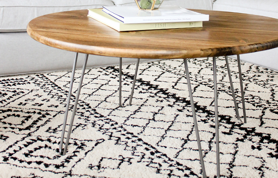 House One makes this hairpin table a weekend project