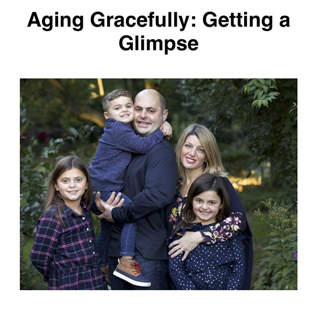 "Our Co-Founder and in-house female extraordinaire @krisperla answered the question ""What does aging gracefully mean to you?"" for our client @thefinelinemag and it's an amazing read. Link in our bio!"