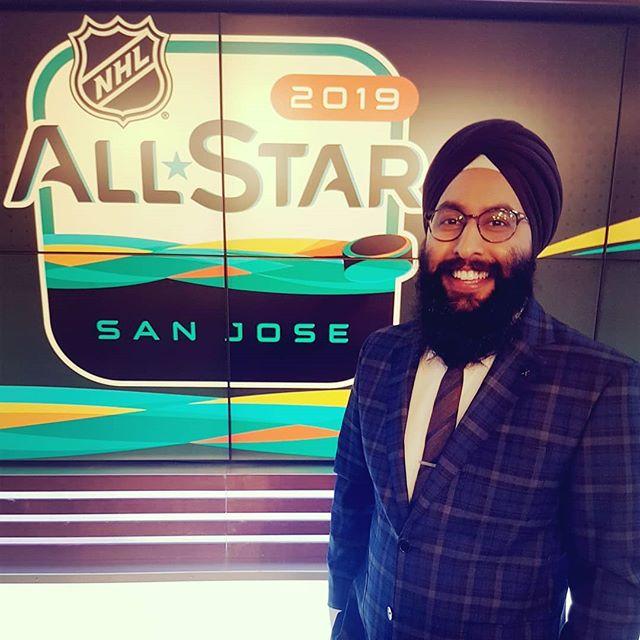 2019 #NHLAllStar ready!  @hockeynightpunjabi @nhl  #HockeyNightPunjabi #NHL