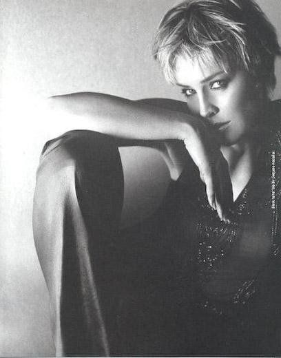Sharon Stone, photographed by Sante D'Orazio for Arena