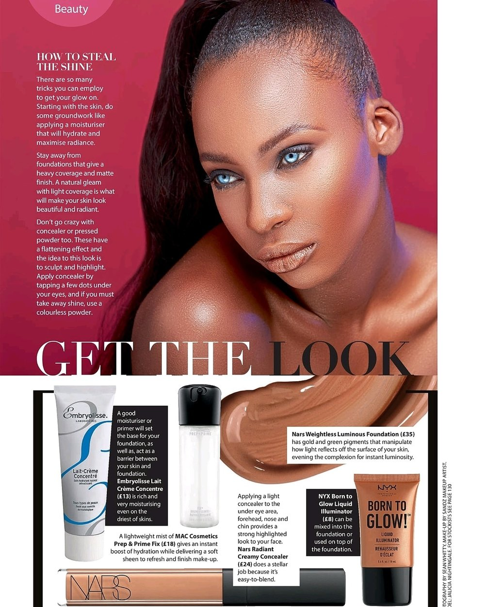 Black Beauty & Hair Magazine April/May 18
