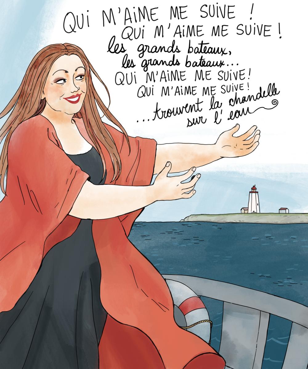 Sandra par Camille Perron Cormier