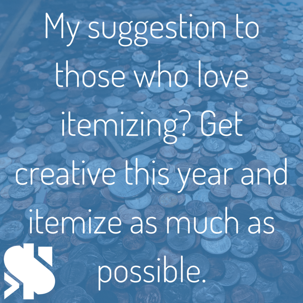 Get creative this year and itemize as much as possible..png