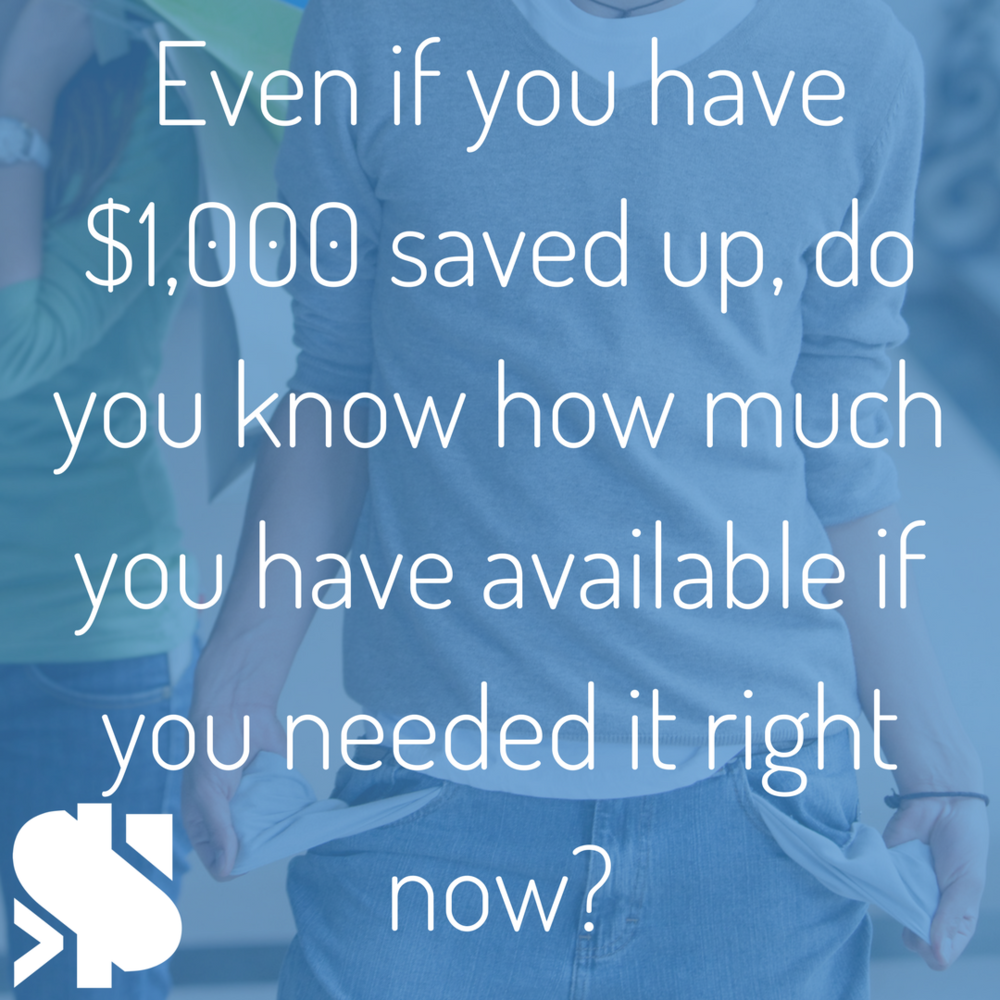 Even if you have $1,000 saved up, do you know how much in total you have available in case you need it right away_.png