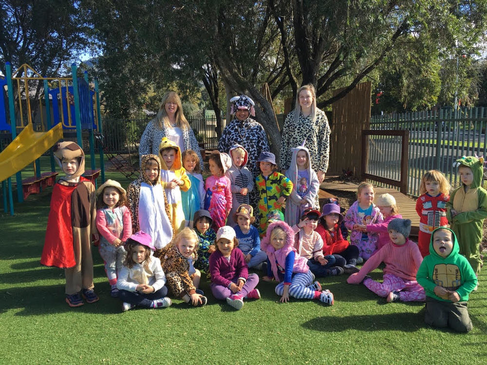 """Onesie Day"" – The children had a lovely day dressing up in their Onesie's and Pyjama's."
