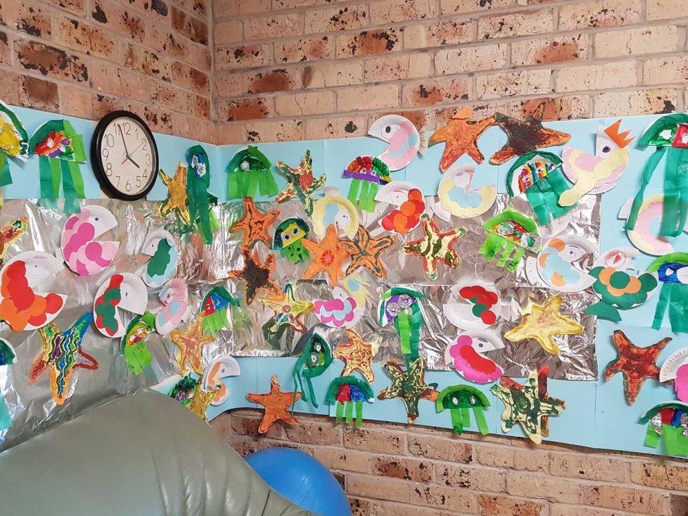 Erica's Art Wall