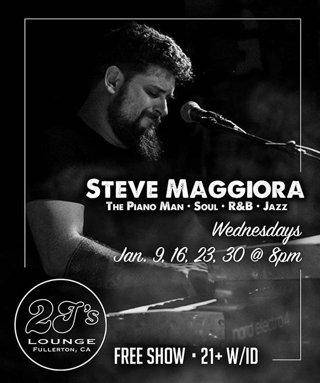 Back at it tonight and every Wednesday at @2jslounge in #fullerton 8-11pm with @jaylittlefoot as #SM2. Come shake your butt at us. #stevemaggioraduo #stevemaggiora #livemusic #supportlivemusic #supportlocalmusic #oc #orangecounty