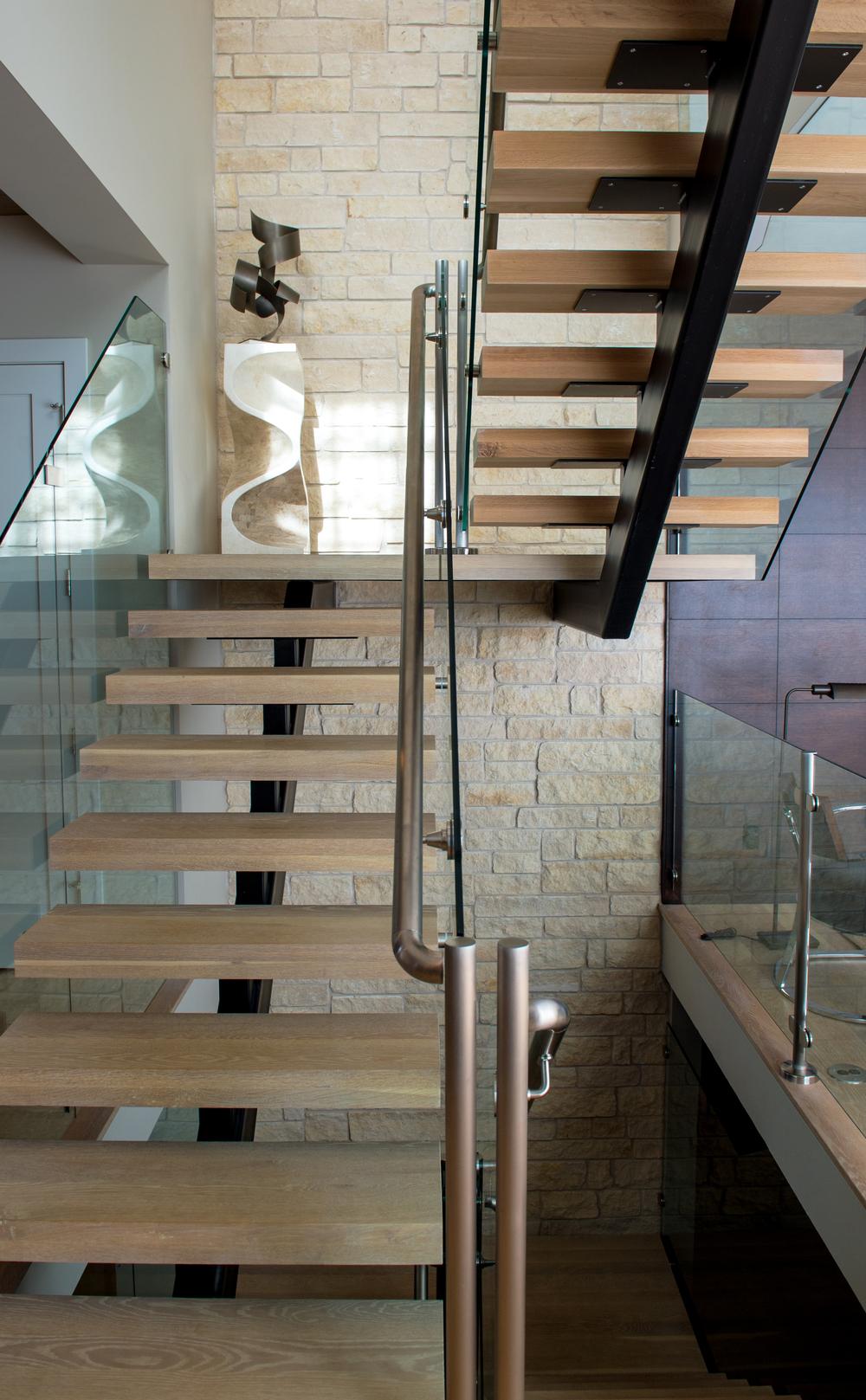 Modern Interior Stairway   Denver, CO