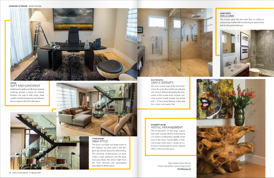 Cherry Creek Magazine Features Pratt Designs in Denver