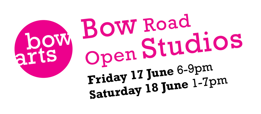 The Open Studio of Silvia Gentili & Joseph Griffiths in conjuction with Bow Arts Open Studios 2016/London's Artist Quarter.    Studio B2-8, Bow Arts Trust, 183 Bow Road E3 2SJ
