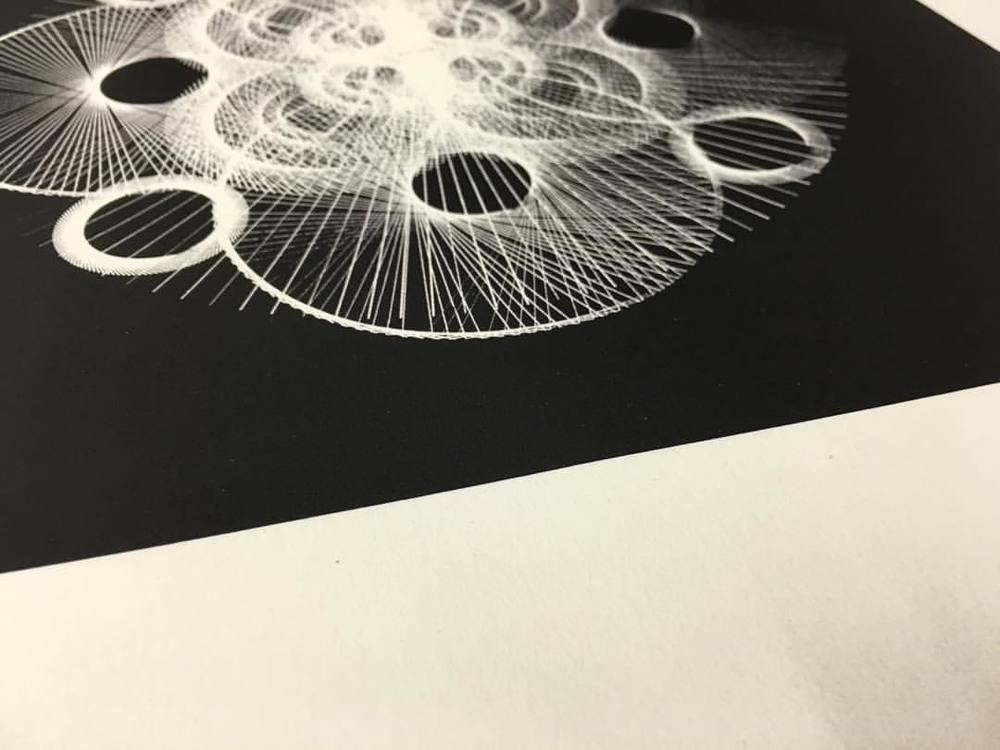 Art 2 of 4 'Pollen'. Very limited edition (20 of each) 12 x 12 inch screenprints from #SaluSpace x #NilsFrahm x VinylMePlease x #erasedtapesrecords now available for shipping. Email salut@salu@io for more. #screenprint #screenprintart #printmaking #digitalart #artforsale #generativeart #silkscreen #silkscreenart #codeart #graphicart #graphicarts #3dart #3dartist #michaelsalu #recordart #vinylme #vinyllovers #flower #flowerart #flora #microart #abstractart #abstractexploration #mathart #mathematicalart #tillsalu #arttillsalu (hier: Prenzlauer Berg, Berlin, Germany)