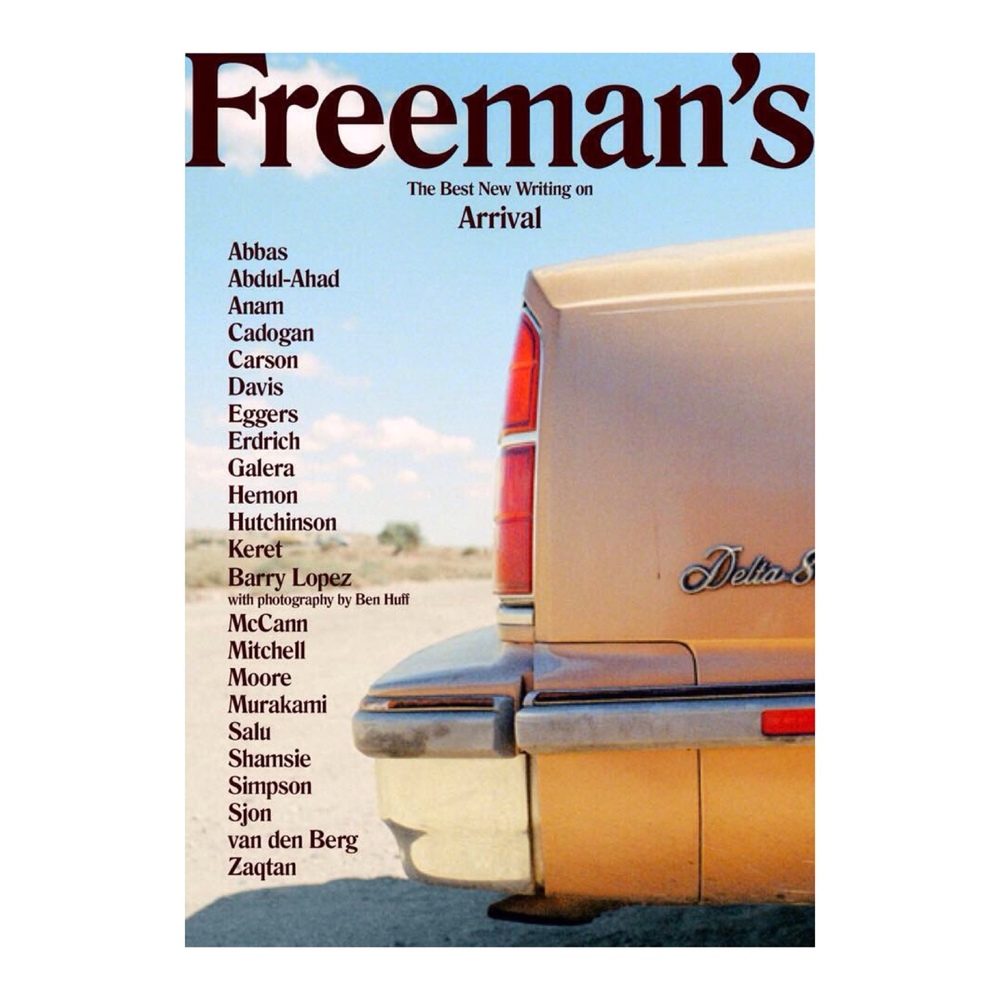 New lit journal Freeman's launches on Monday. An #NYC event at The New School  featuring a selection of the writers is on Monday. Art direction by SALU.io  http://www.mcnallyjackson.com/event/site-event-new-school-evening-freeman%E2%80%99s