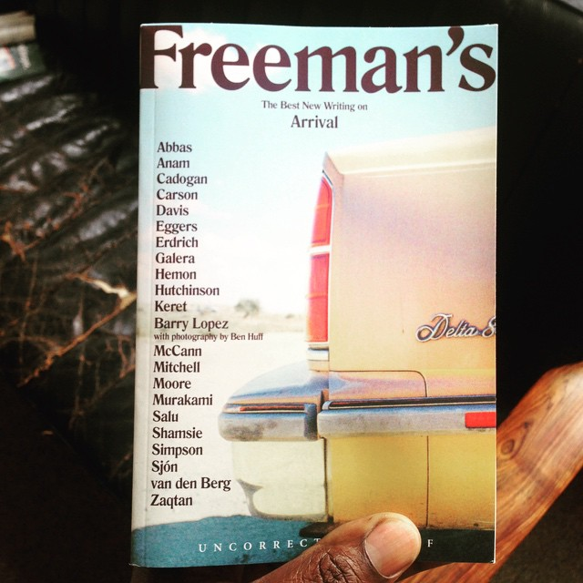 Just received my proof copy of new #literary #journal Freeman's by @freemanreads including a new story from me and alphabetically or not happy to be up close with #murakami Freemans also gets a UK release with #AtlanticBooks #eggers #erdich #davidmitchell #harukimurakami #kamilashamsie #edgarkeret #hemon #literaryjournal #literarymagazine #grovepress #shortstory #poetry (at Berlin, Germany)
