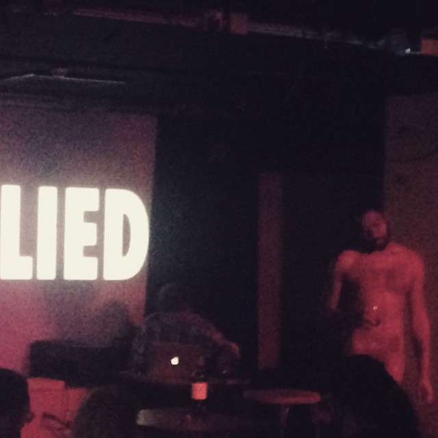More from @dannyanguish #lifedrawing #selfie #propaganda performance at last nights #localtransport a special book will be made from the drawings and photographs taken. More soon at Salu.io/localtransport #art literature #photography #performance #printmaking #liveart #acehotel #shoreditch