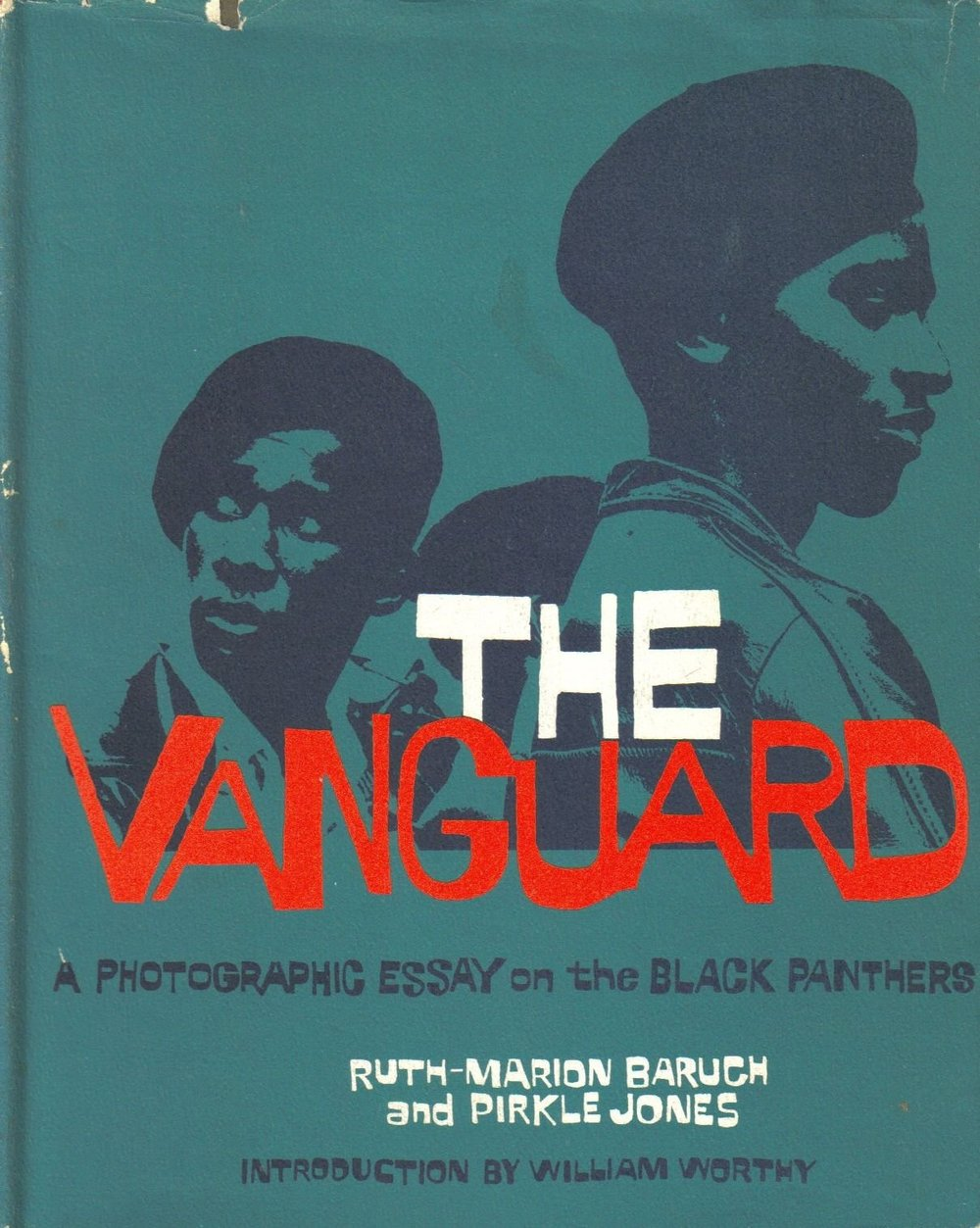 shihlun :   Ruth-Marion Baruch and Pirkle Jones,  The Vanguard: A Photographic Essay on the Black Panthers , 1970.   In 1968, the wife and husband team of photographers Ruth-Marion Baruch and Pirkle Jones, who were interested in the counterculture movements of the 1960s in California, produced an extensive reportage on the Black Panthers for the Young Museum in San Francisco. Their aim was to promote understanding of the movement and counteract its negative social  perception, fostered by the media. Their series showed an intimacy with  the Black Panthers, beyond the military and gang connotations of their  uniform, strategically adopted by the Party to counter the victimisation  of the community and promote empowerment though an attractive  self-image. Baruch and Jones revealed the under-represented side of the  Panthers' activity, their soup kitchens and social welfare services, as  well as how they were repressed and attacked.