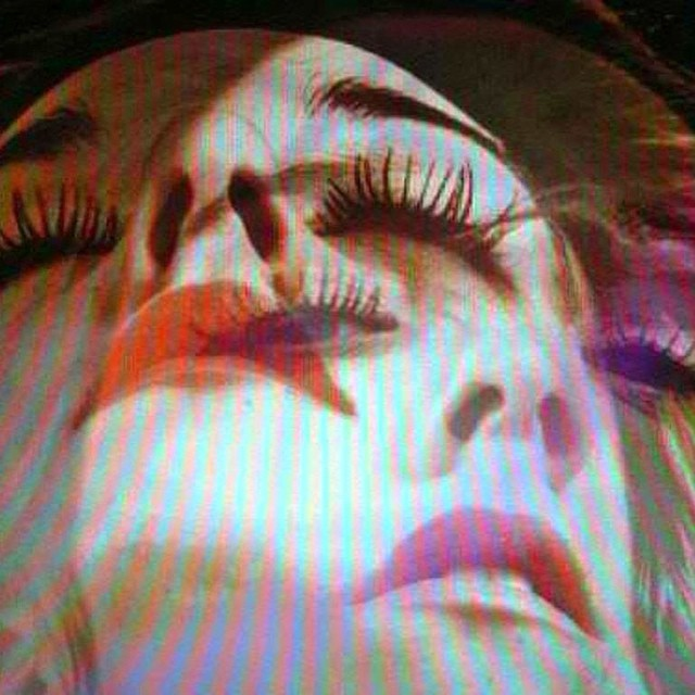 You never remember #dreams #vhs #eyes #lips #siren