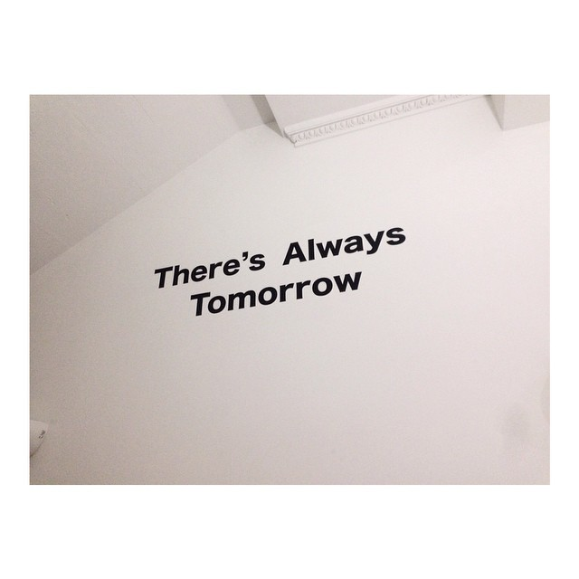 #ABetterTomorrow #procrastination (at Royal College Of Art)