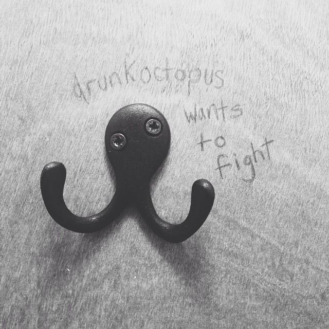 #drunk #octopus #vscocam