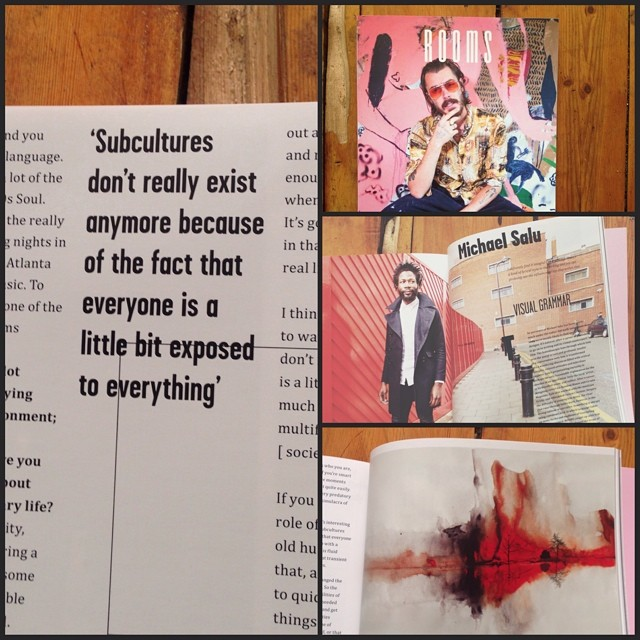 Just recieved my copy of @roomsmagazine - #art #design & polymathic #visual #culture #magazine