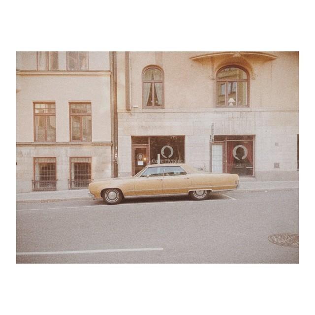 #american #cars #Scandanavian #streets
