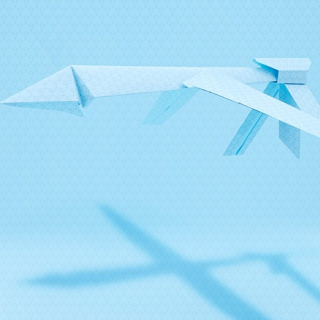 Today #war never ends. Here's the #drone we created for Granta magazines after the war issue. Set #design and #photography with Bruno Drummond. #setdesign #papercut #origami #artdirection #paperplane #paper #surveillance #blue #colour #graphicdesign #papersculpture #3ddesign #pattern #warfare
