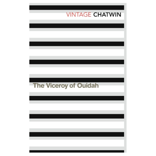 The #Viceroy of Ouidah from our #abstract #landscape series for #travel #writer #Bruce #Chatwin in 2008. We wanted to see how much landscape and #narrative we could convey with the simplest #graphic elements (well in this case, just #prison #bars). #books #booklover #vector #geometry #colour #colours #harlequin #horizon #pattern #patterndesign #painting #monochrome #blackandwhite #graphicdesign #bookdesign #brucechatwin #travel #palette #SALUarchive #design #vintage