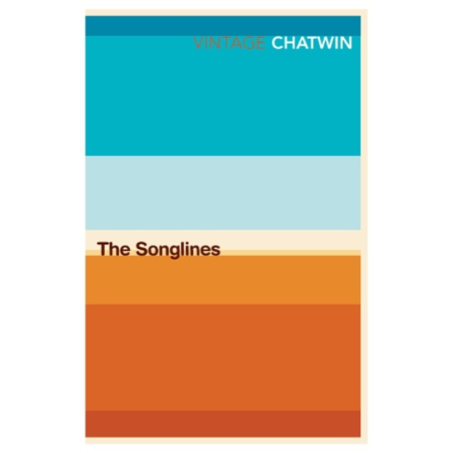 The #Songlines from our #abstract #landscape series for #travel #writer #Bruce Chatwin in 2008. We wanted to see how much landscape and #narrative we could convey with the simplest #graphic elements. #books #booklover #vector #geometry #colour #colours #australia #clay #outback #desert #horizon #sky #land #blue #orange #hot #sun #graphicdesign #bookdesign #SALUarchive