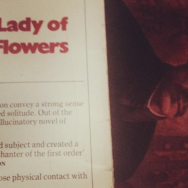 #genet #moustache #lady #flowers