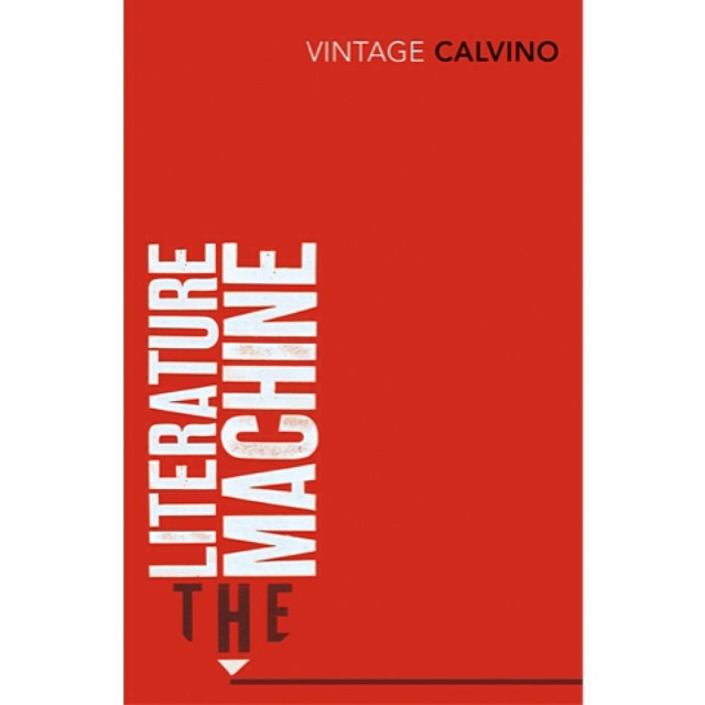 The #Literature #Machine from our #typographic #bookcover series for #ItaloCalvino in 2008 #typography #writing #writers #books #booklovers #publishing #pen #pencil #red #colours #letterpress #graphicdesign #branding #brandidentity #saluarchive