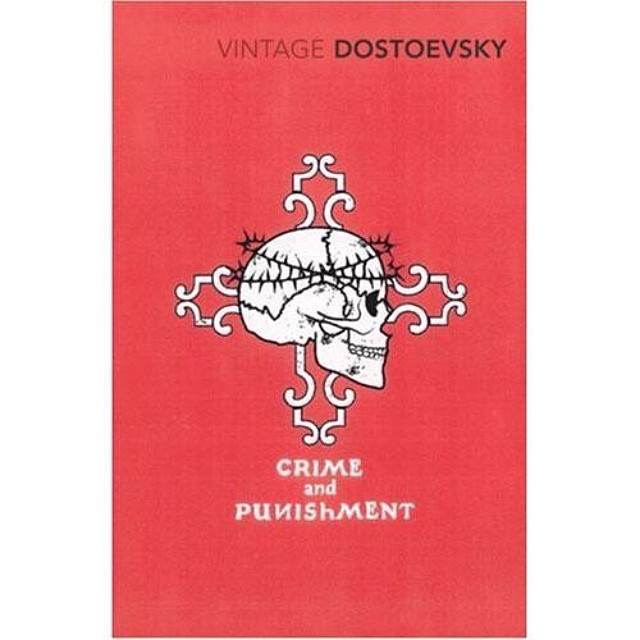 #crime and #punishment by Fyodor #dostoevsky from our #coverdesign series for #vintageclassics #2008. #graphicdesign #illustration #branding #tattoo #literature #saluarchive